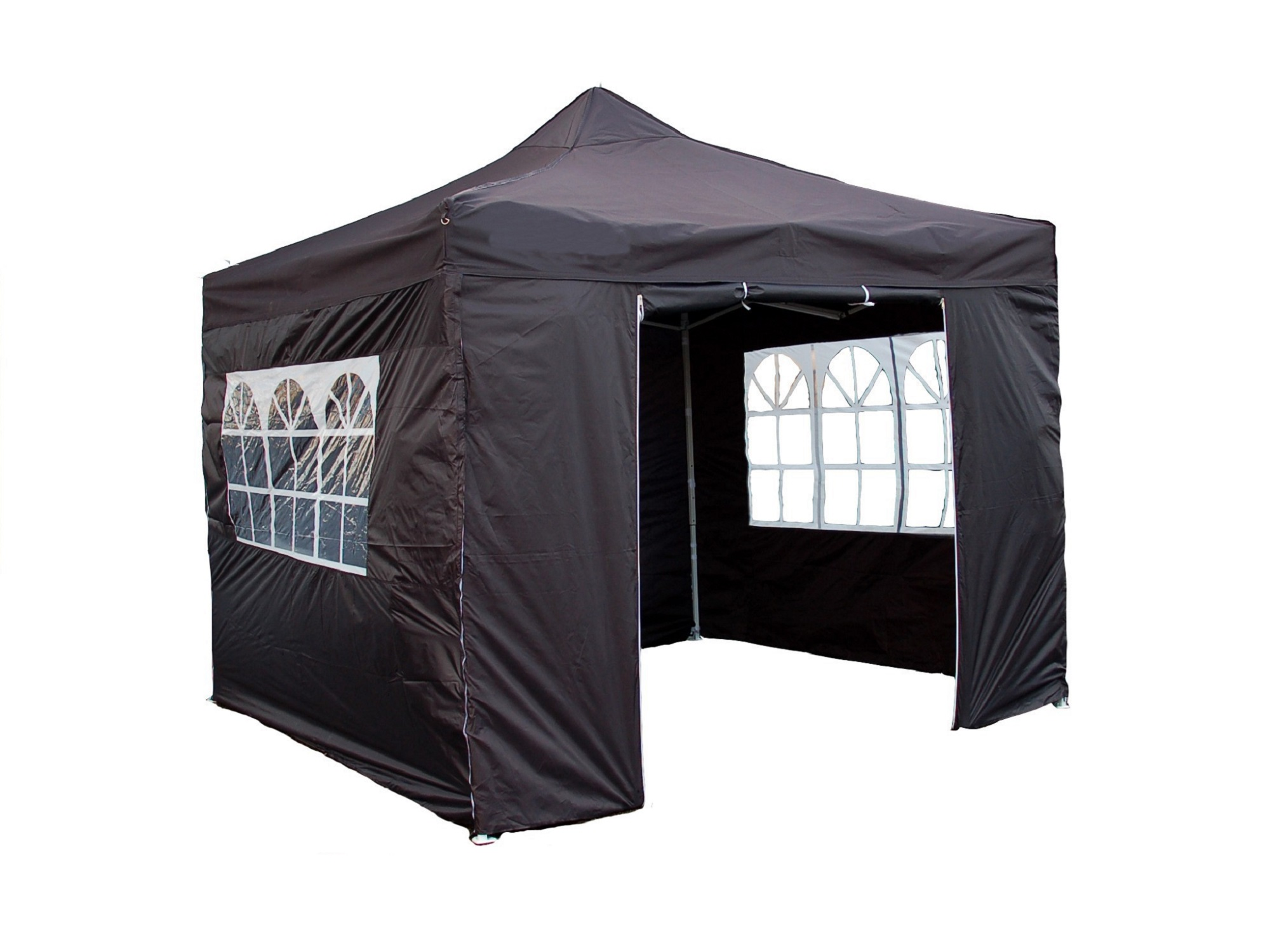 Partytent 3x3 antraciet fleming markelo
