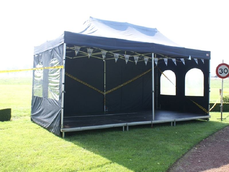 Partytent 3x6 - antraciet