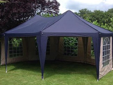 Partytent fleming, markelo, blauw